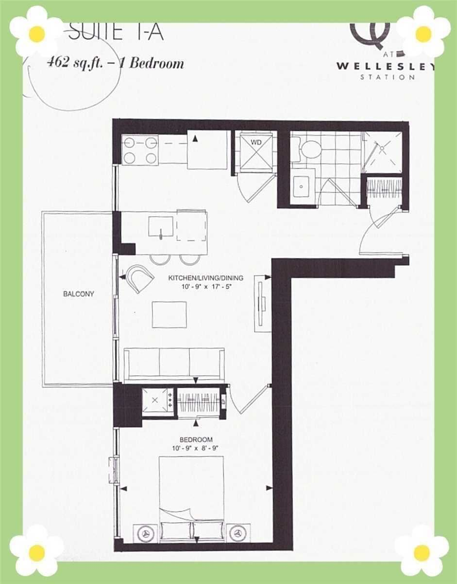 50 Wellesley St E, unit 3201 for rent in Toronto - image #1