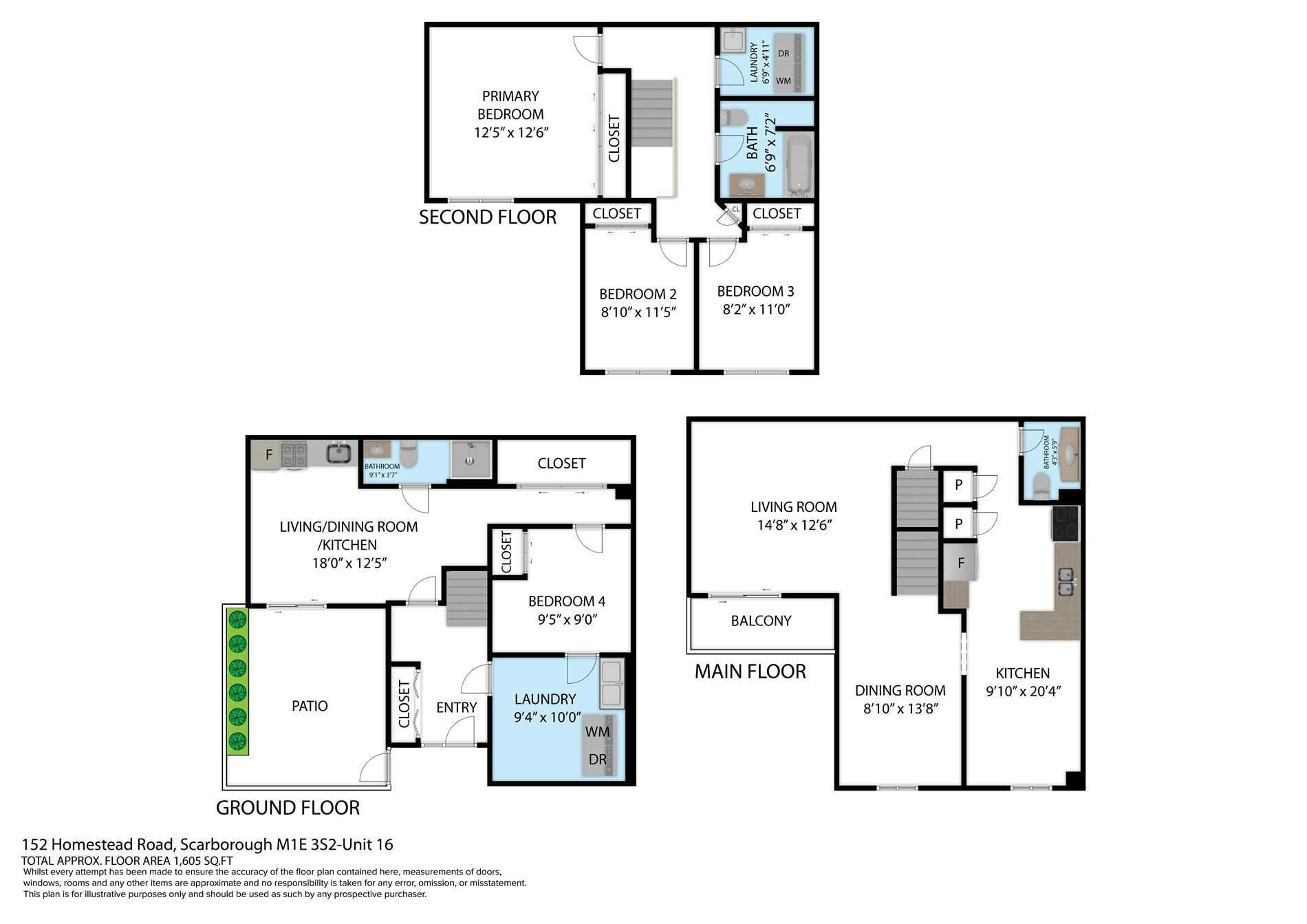 152 Homestead Rd, unit 16 for sale in Toronto - image #2